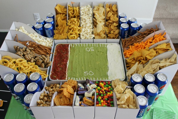 Self-serve snack station lets your guests do the work