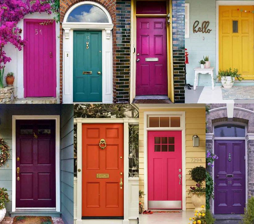 Jewel Tones Doors- Front Door Paint Colors- Mohawk Home