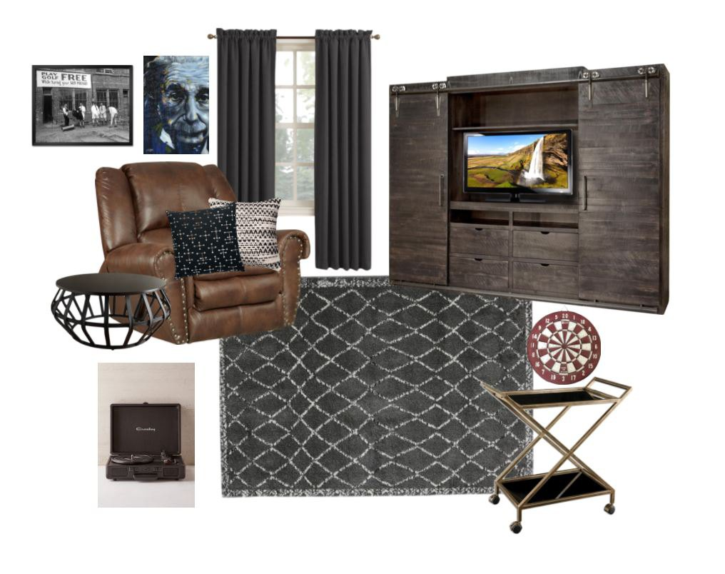 Man Cave Ideas- Mohawk Home