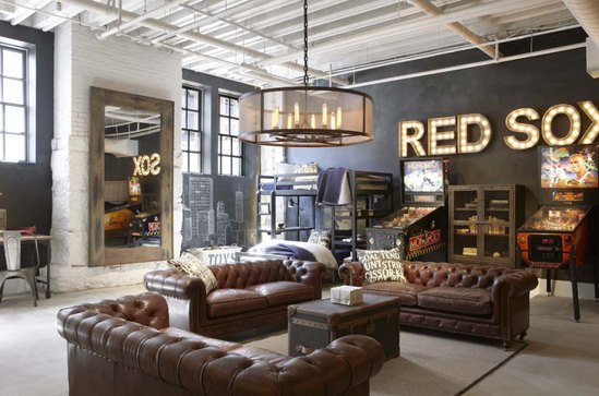 Baseball Lover- Man Cave Inspiration from Mohawk Home