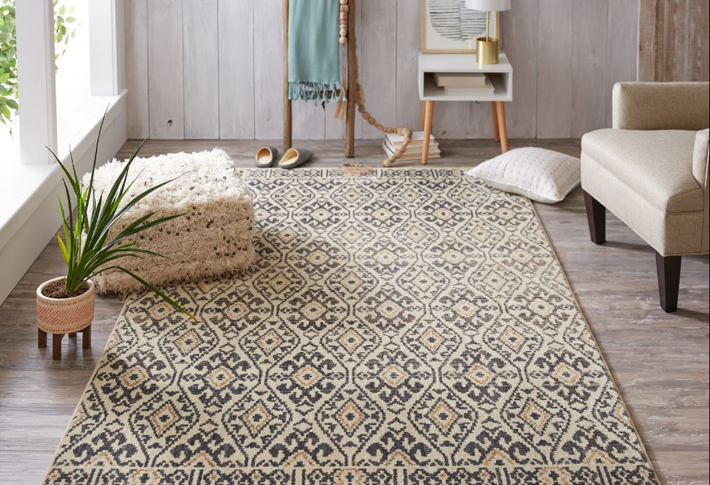 Aloma Denim rug by Under the Canopy
