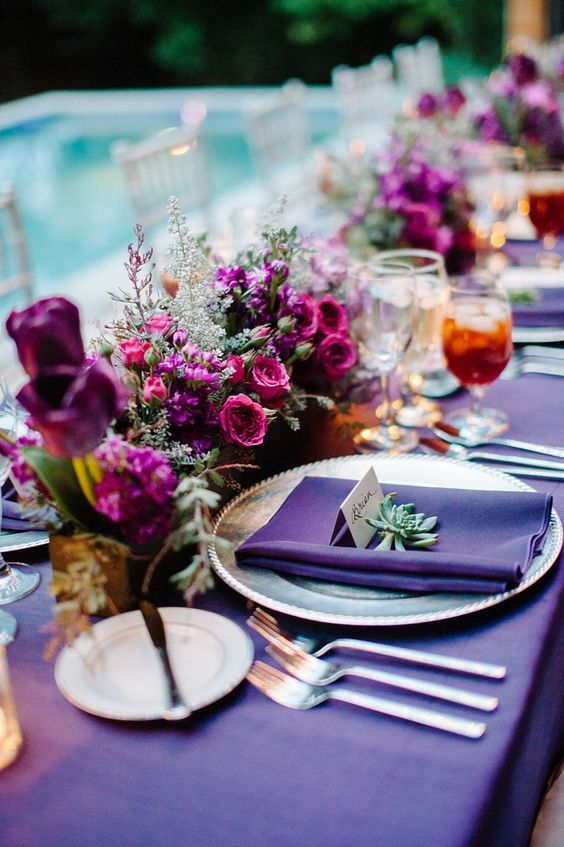 Ultra Violet Tablescape| Mohawk Home